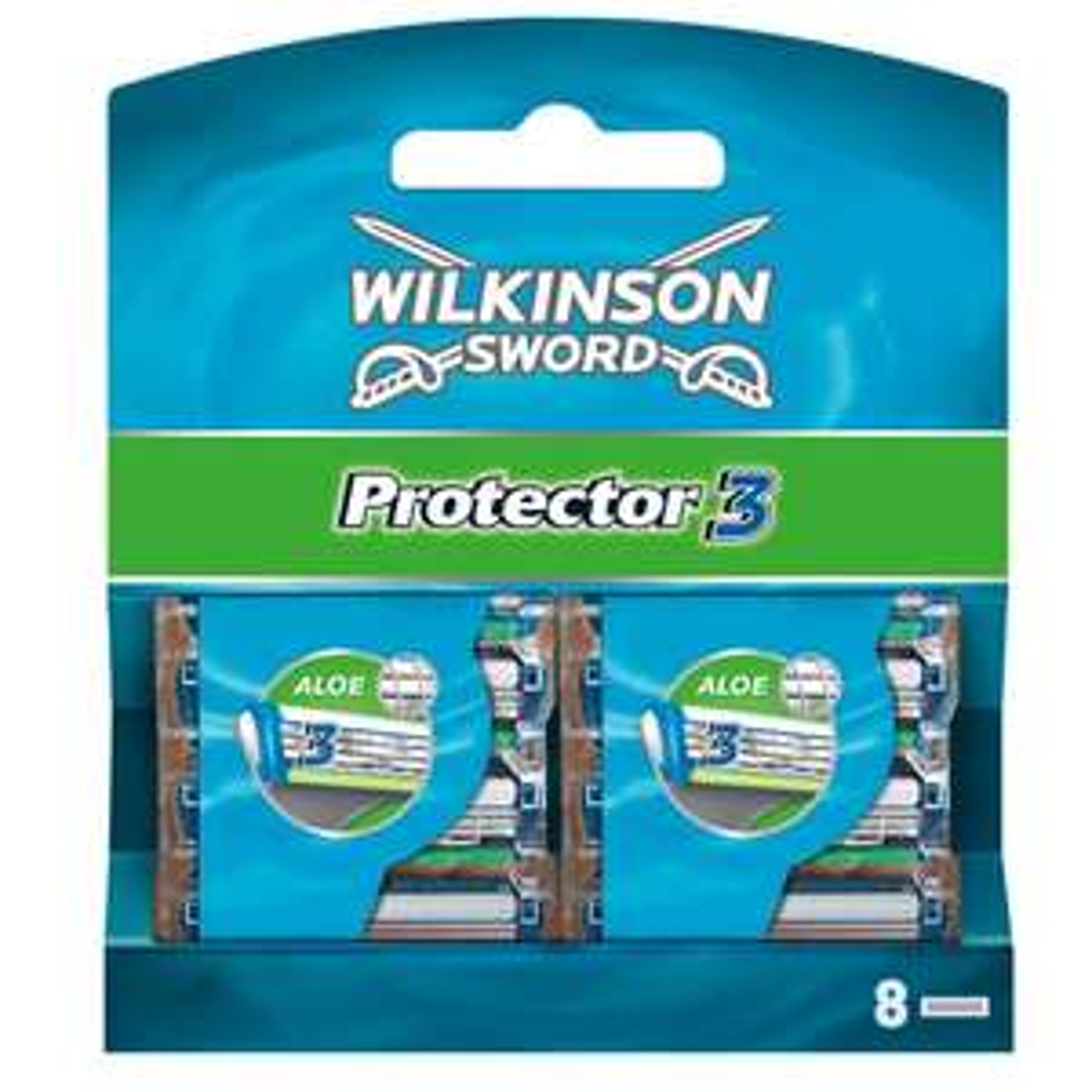 Amazon: Wilkinson Sword Protector 3 Klingen, 8 Stück für 5,61€
