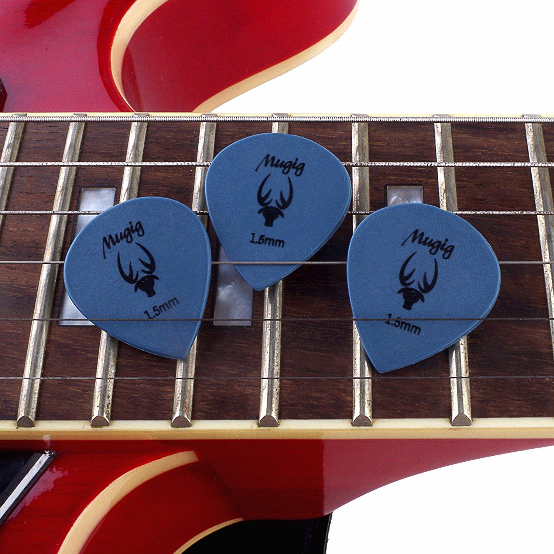 Mugig Gitarre Plektren Plektron bunte Picks 50 Stück ab 1,50€ (1x 0,03€) [Amazon Prime] 70% Werbeaktion Rabatt