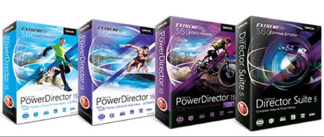Rabatt beim Kauf von PowerDirector 15