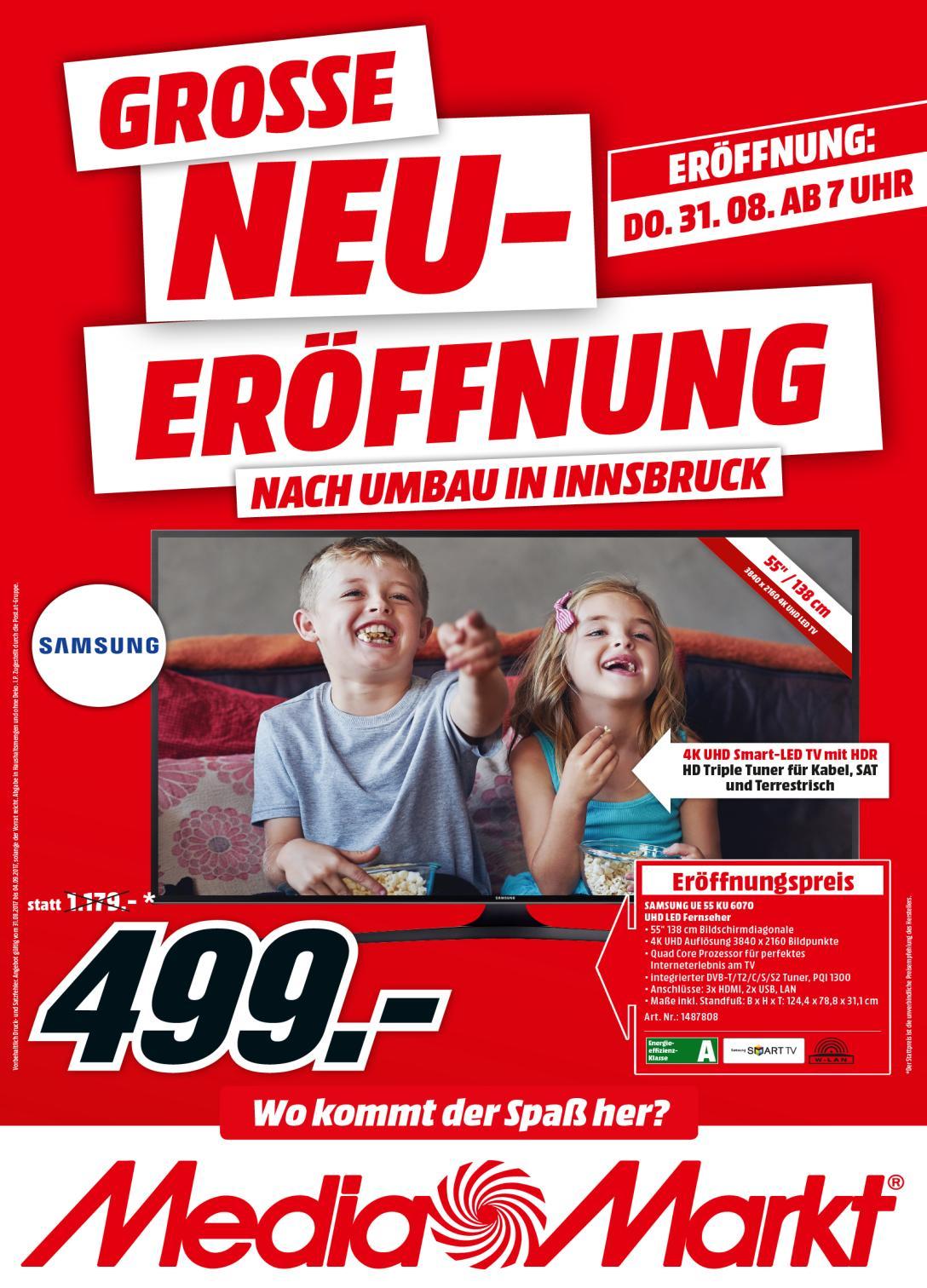 Neueröffnung Media Markt Innsbruck 31.08.2017
