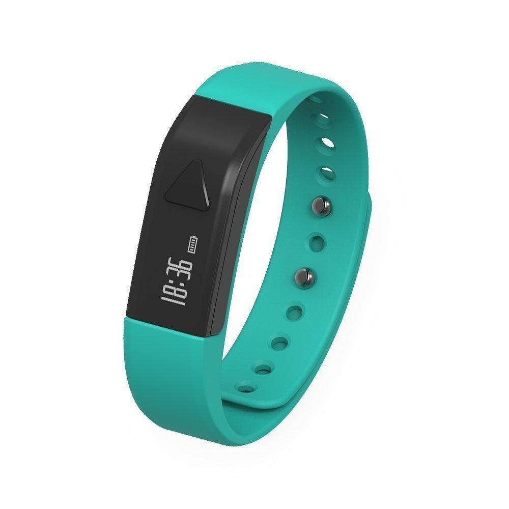 (Amazon) Juboury Fitness Armband, Fitness Tracker mit Schrittzähler, Schlafüberwachung, Anrufer- und Nachrichtenanzeige für iOS- und Android Smartphones für 11,99