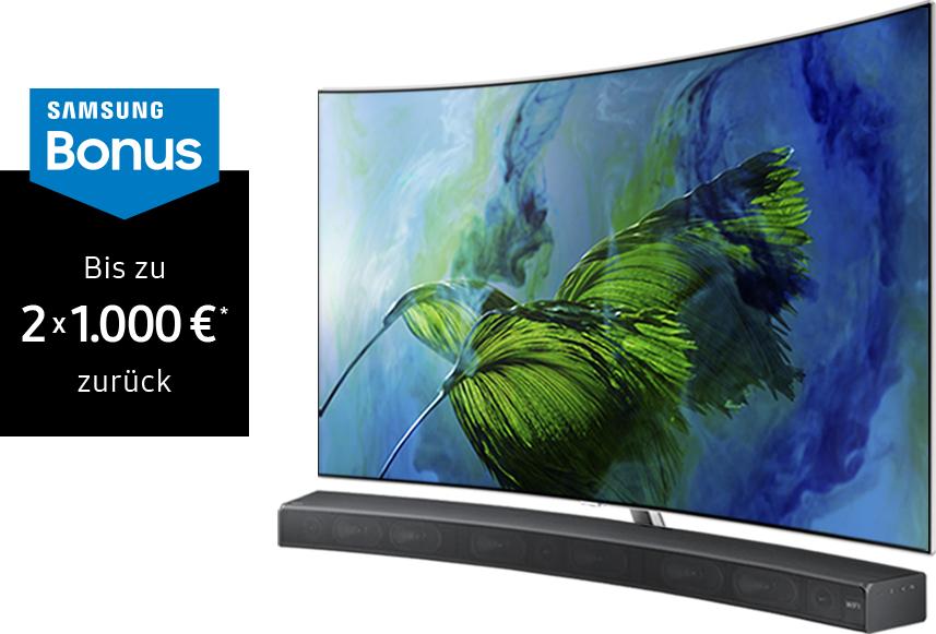 es gibt wieder eine neue Cashback Aktion bei Samsung TVs