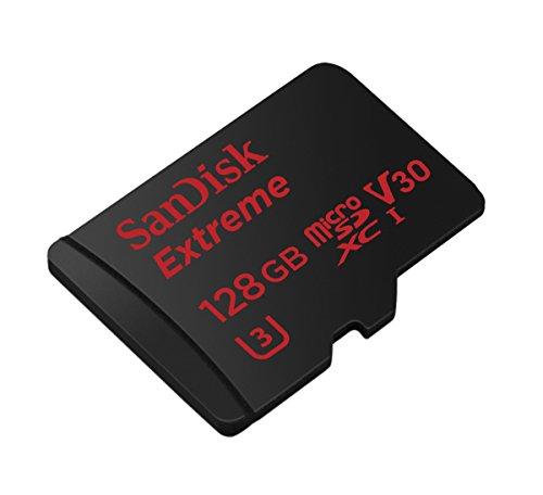SanDisk Extreme microSDXC (128 GB, UHS-I U3/Class 10) um 55 € - 20%