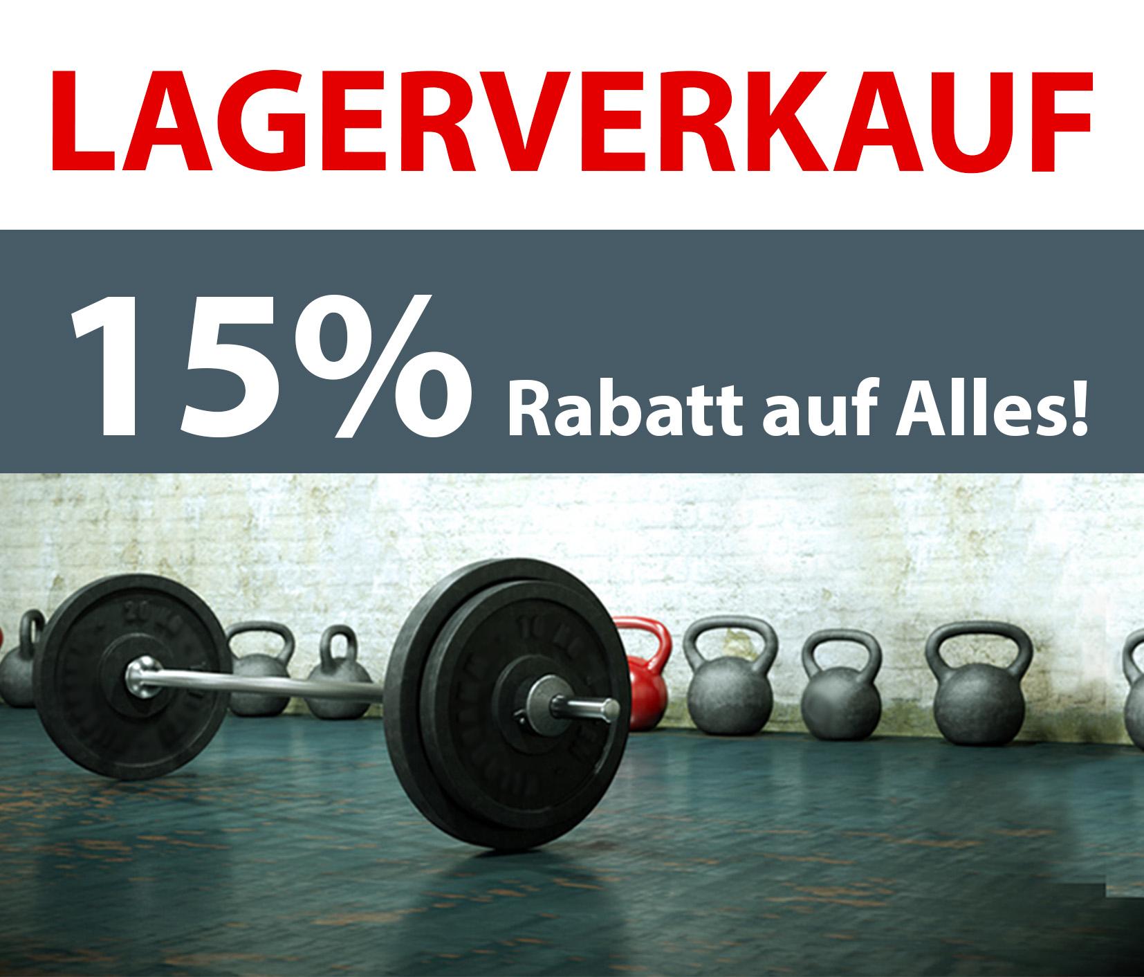 LAGERVERKAUF: 15% RABATT AUF ALLES! --> mit Gutscheincode*: JETZT-BESTELLEN