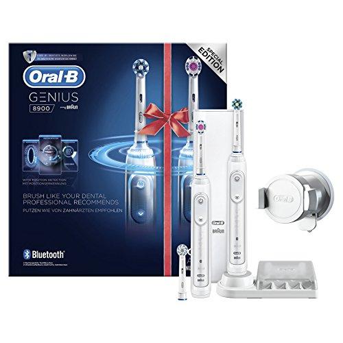 Oral-B Cashback Aktion, z.B.: Oral-B Genius 8900 Bonuspack mit 2 Handstücken für effektiv 64,91€