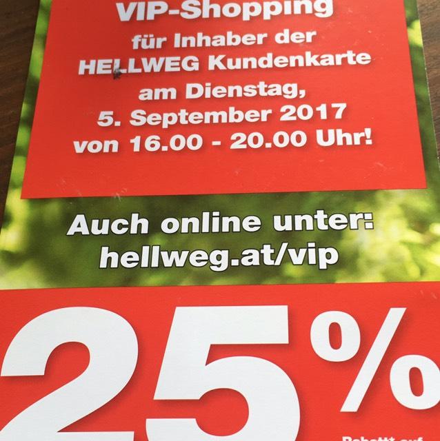 -25% auf alles im hellweg online shop