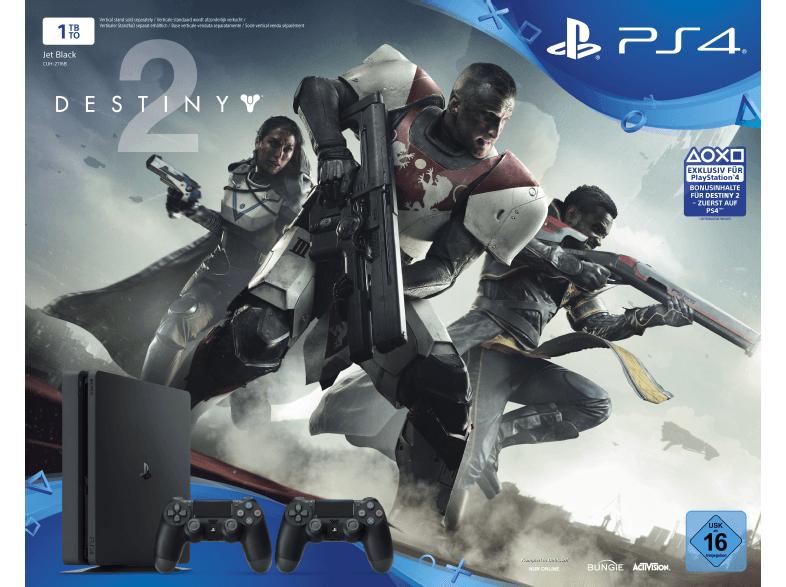 [MediaMarkt] PlayStation 4 Slim 1TB Schwarz + Destiny 2 + 2. DualShock4 Controller + Thats You