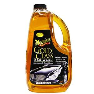 Amazon.de: Meguiar's Gold Class Car Wash Shampoo & Conditioner, ca 1,9l um 8,29€