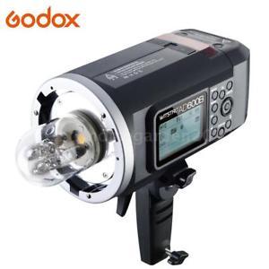 50% Rabatt Godox Wistro AD600B TTL HSS 1/8000S 2.4G Flash Blitzgerät nur 359.9€