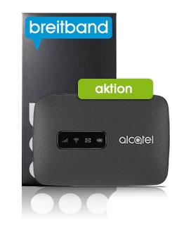 Alcatel MW40 LTE Modem inkl. Bob Starterpaket