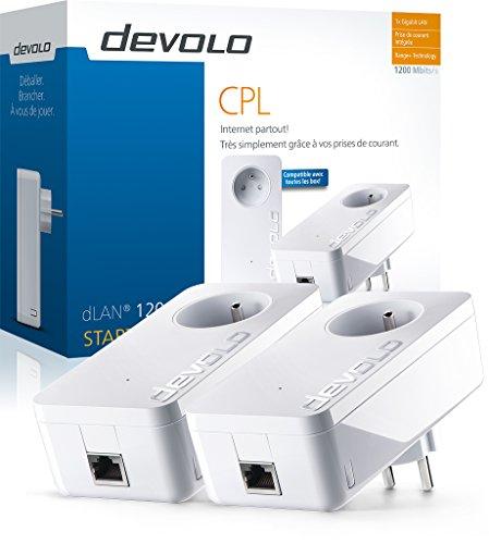 Amazon.fr: devolo dLAN 1200+ Starter Kit um 85,83€