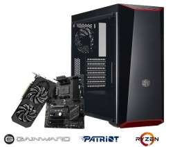 Gaming PC [konfigurierbar] (Ryzen 5 1600, 16GB RAM, 240GB SSD, Gainward Geforce 1060 / 6GB, MSI B350 PC Mate, be quiet! Pure Power 10 400W) für 847 € [Dubaro]