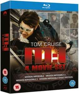 Mission Impossible 1-4 auf Bluray für 7€