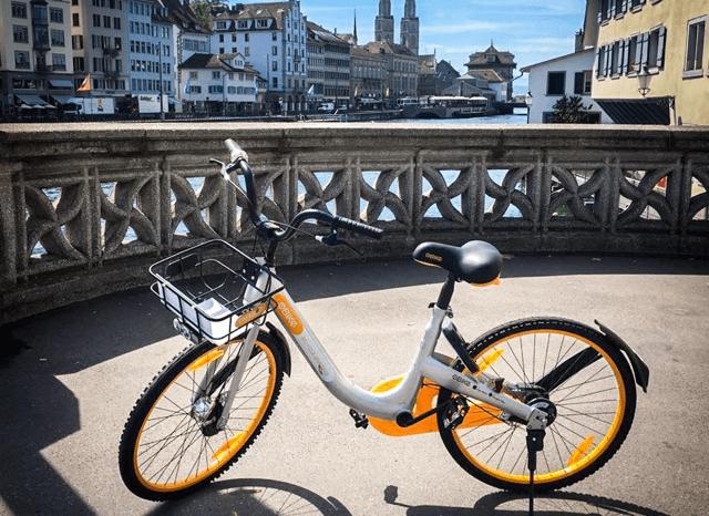oBike, nur 39€ statt 79€ Kaution für Fahrradnutzung in Wien