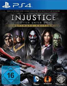 Amazon: Injustice - Ultimate Edition (PlayStation 4) für 9,99€