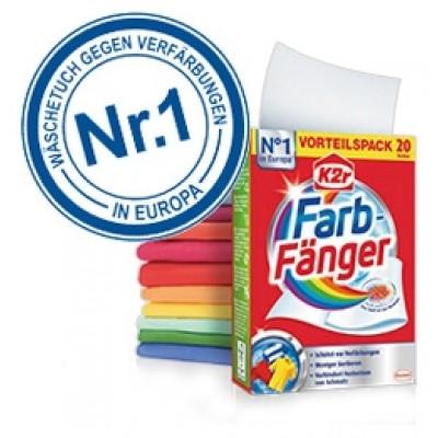 """GRATIS - """"K2r Farb-Fänger"""" (Wäschetuch)"""
