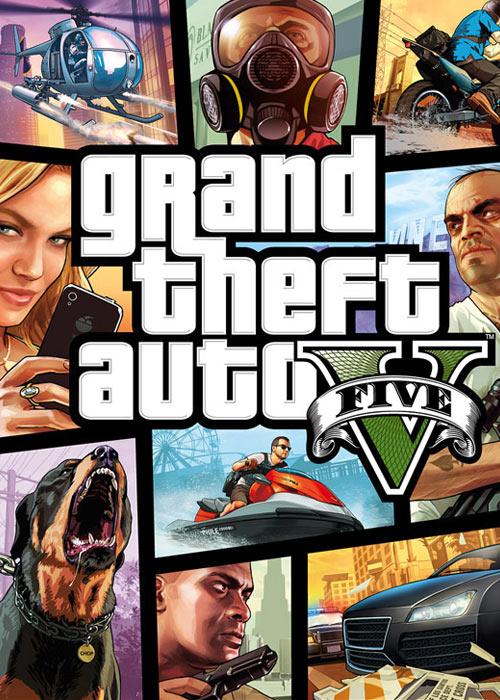 Grand Theft Auto V Rockstar für 22,49 €