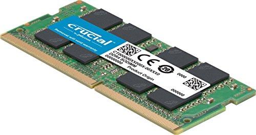 Crucial 8GB Single DDR4 2133 MT/s SODIMM nur 52€