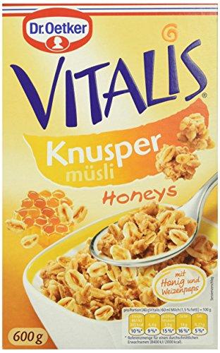 "Amazon.de - Vitalis Knusper Müsli ""Honeys"" im 5er Pack für 7,55€"