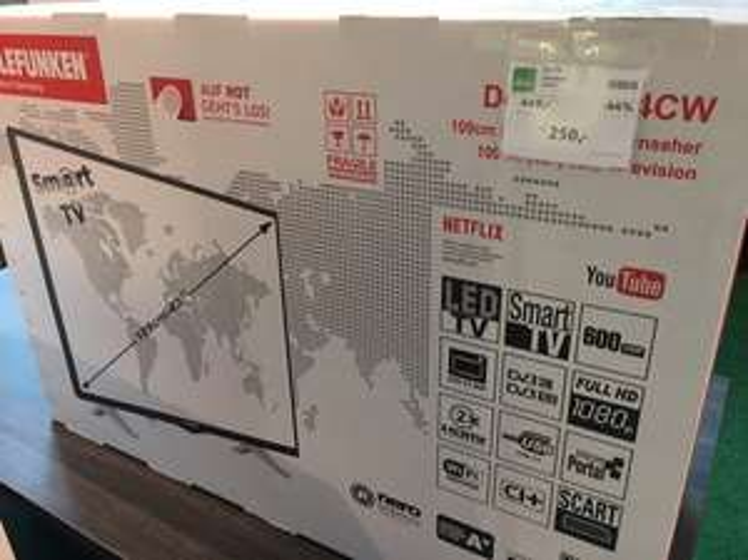 """Telefunken Full HD LED 43"""" NUR 250€"""