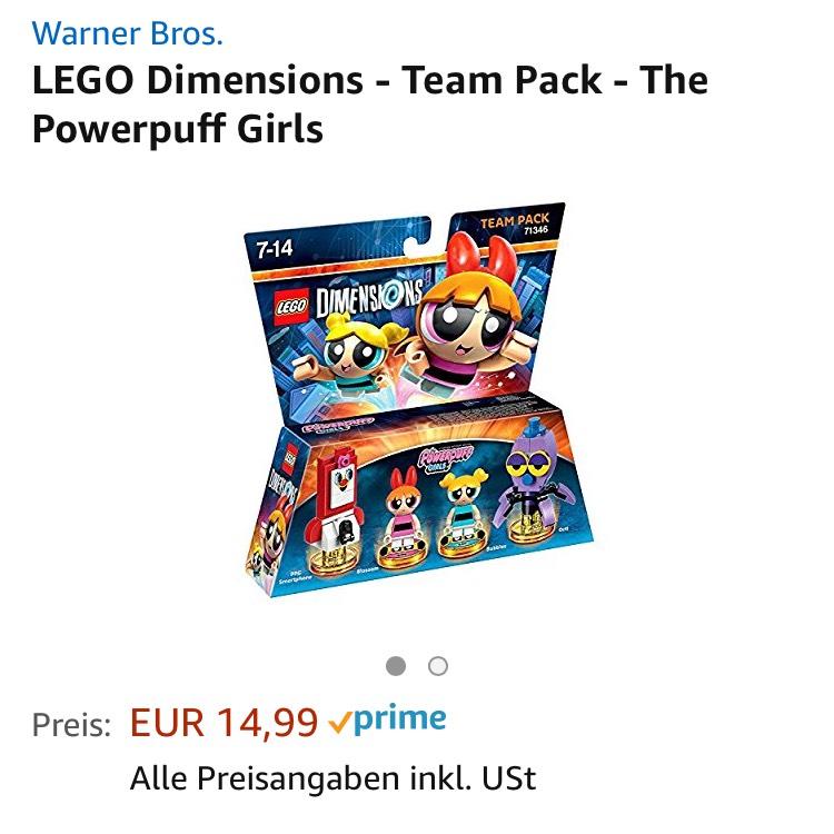 Lego Dimensions Powerpuff Girls - Team Pack