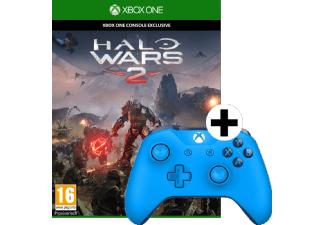 [Mediamarkt] MICROSOFT Xbox Wireless Controller blau + Halo Wars 2 für 33,-€ Versandkostenfrei