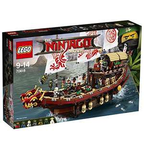 [Amazon.co.uk] LEGO Ninjago 70618 - Ninja-Flugsegler + 5GBP Guthaben für 91€ - 32% sparen