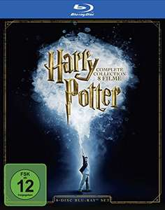 Harry Potter - The Complete Collection - Blu-Ray - 24,97€ [Amazon Prime]