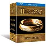 Der Herr der Ringe - Die Spielfilm Trilogie (Extended Edition) (Bluray) für 34,97€