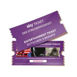 3 Monate Sky Entertainment + E-MEDIA um nur 13€! ~70% BILLIGER