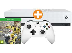 [Saturn.at] XBox One S Bundle 1TB weiß FIFA 17 (Download-Code) für 222€