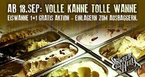 Sweet Hell Eissalon - Eiswannen 1+1 gratis