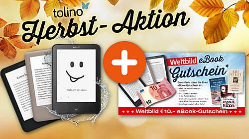 10€ eBook Gutschein beim Kauf eines eBook Readers