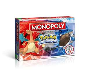 [Amazon.de] Winning Moves 44116 - Monopoly: Pokémon - Kanto Edition für 27,61€