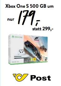 Post am Rochus (Wien) Neueröffnung am 21. September - Microsoft Xbox One S - 500GB, Forza Horizon 3 Bundle für 179€