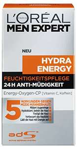 Amazon.de: L'Oréal Men Expert Hydra Energy um 3,52€