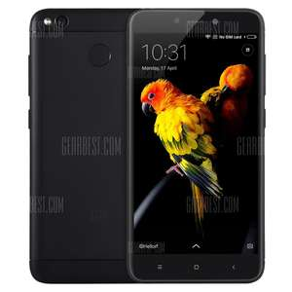 Xiaomi Redmi 4X 4G Smartphone UK Plug  -  BLACK