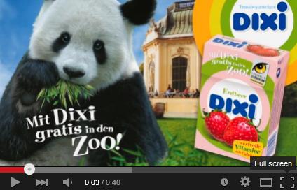 Für 0-14 Jahre: 3 Stück Dixi Traubenzucker kaufen und damit gratis in 1 von 7 Zoos