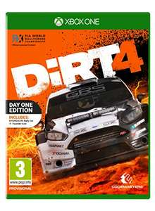 Amazon.co.uk: Dirt 4 Day One Edition (Xbox One) um ca. 25,10€