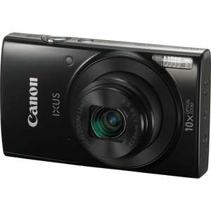 0815.at: Canon IXUS 190 Digitalkamera (20 Megapixel, 10x optischer Zoom, WLAN, NFC, HD Movies) für 99€