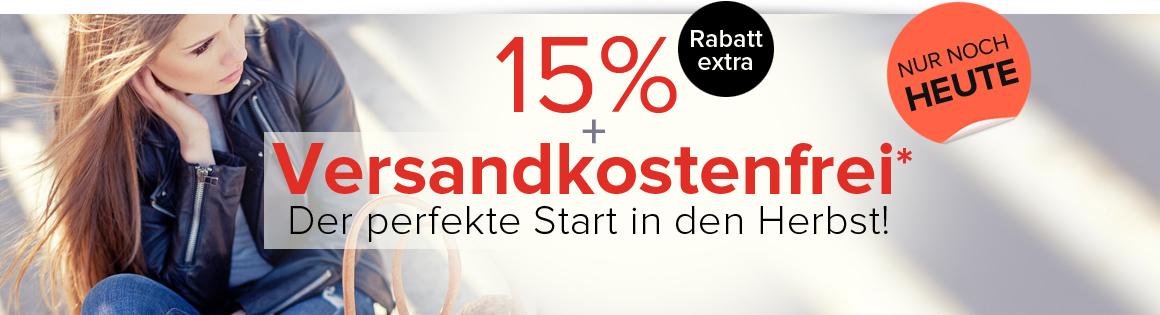 Dress for less  -15%  plus Versandkostenfrei