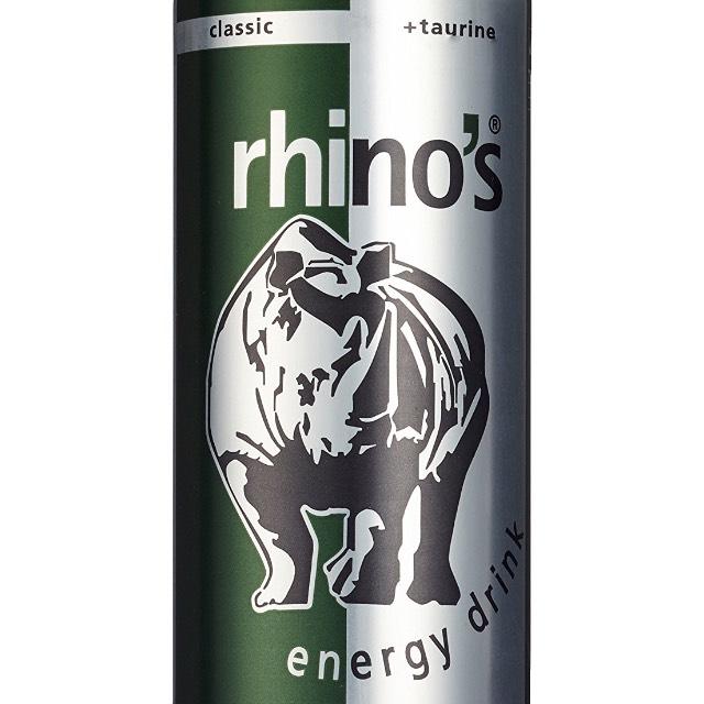 Rhino's Energy Drink 24x Dosen für 9,97€ (0,42€ pro Dose)