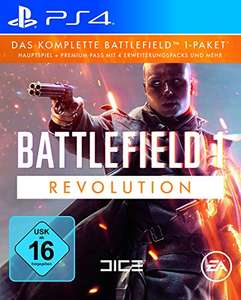 Amazon: Battlefield 1 - Revolution Edition (PS4 / Xbox One / PC) für 36,97€