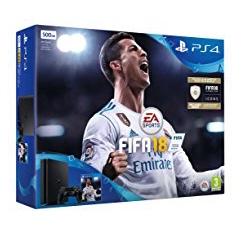 Sony PlayStation Slim (500GB) + FIFA 18 um 233 € - 27%