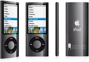Apple iPod nano 8GB (5G) schwarz für 105€