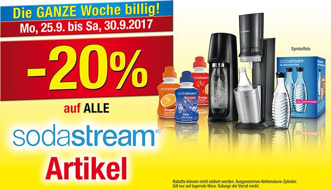 Maxi Markt: -20% auf alle Sodastream Artikel