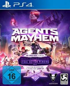 [gameware.at][ PS4/XBONE/PC] Agents of Mayhem D1 Edition + 7 DLCs für €38,99 versandkostenfrei