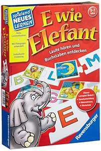 Amazon.de: Ravensburger E wie Elefant um 8,02€