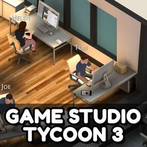 [IOS] Game Studio Tycoon 3 Gaming Business Simulation kostenlos statt 5,49 EUR