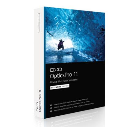 DxO OpticsPro 11 Essential (Windows & Mac) gratis!